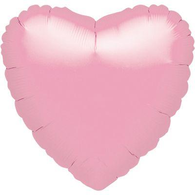 Iridescent Pink Heart Balloon - 18 inch Foil