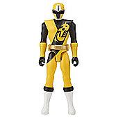 "Power Rangers Ninja Steel 30"" Yellow Ranger Figure"