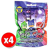 PJ Masks Series 2 Blind Bag with Collectable Figure x4