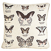Tesco Garden Butterflies Cushion