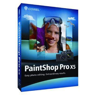COREL-COMMERCIAL BOX-PAINTSHOP PRO X5-EN