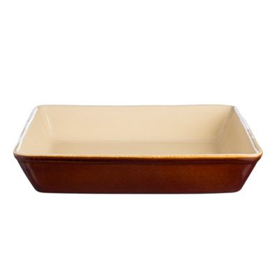 Mason Cash Harvest Baker Dish, Rectangular Glazed Surface, 33cm