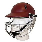Woodworm Cricket Select Mens Adult Cricket Helmet - Maroon