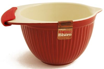 Sabichi Home Bistro Mixing Bowl in Red