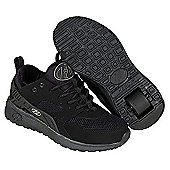 Heelys Black Force Skate Shoes - Size 1