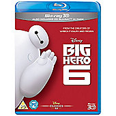 Big Hero 6 3D & 2D Blu-ray