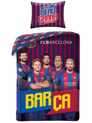 FC Barcelona Players Messi Single Duvet Cover Set