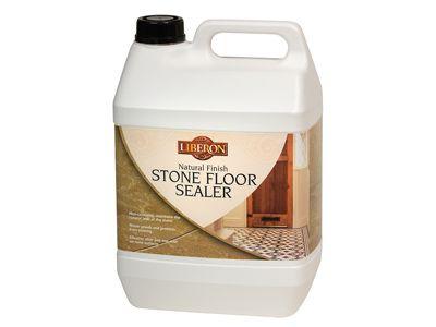 Liberon Natural Finish Stone Floor Sealer 5 Litre