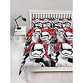 Star Wars Episode VIII Trooper Duvet Cover Set - Red