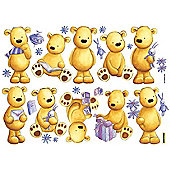 Graham & Brown 2 x Sheets Teddy Bear Wall Stickers