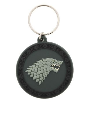 Game of Thrones Stark Sigil Rubber Keyring