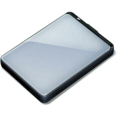 Buffalo MiniStation Plus HD-PNTU3 (1TB) USB 3.0 Shock Proof Portable Hard Drive (Silver)