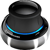 3Dconnexion SpaceNavigator 3D Input Device - Optical - Cable - 2 Button(s) - Silver, Black - Retail
