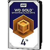 WD 4TB Gold 128MB 3.5IN SATA 6GB/S 7200RPM Hard Drive