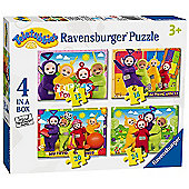 Teletubbies - 4 in 1 Puzzle