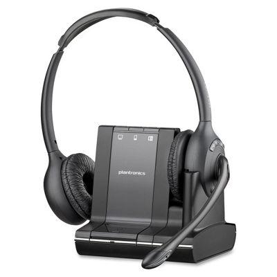 Plantronics Savi W720 3-in-1 UC Binaural Wireless DECT Headset System 83544-12