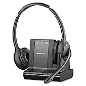 Plantronics Savi W720 Wireless DECT Stereo Earset - Over-the-head - Semi-open