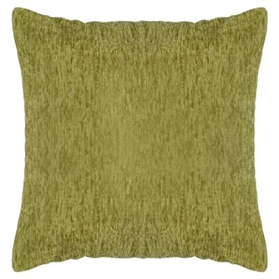 Tesco Chenille Cushion - Green