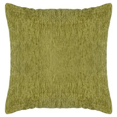 Tesco Chenille Cushion - Green