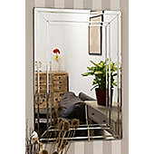 Large Venetian Modern Big Bevelled Wall Mirror 2Ft X 3Ft 60cm X 90cm