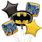 Batman Balloon Bouquet - Assorted Foil