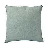 Aqua Blue Square Cushion from Bahne