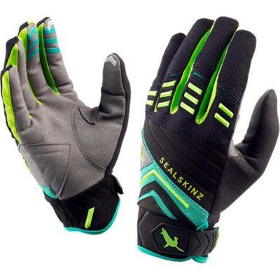 SealSkinz Dragon Eye Trail Glove Black/Leaf/Lime Size: L