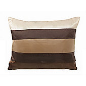 Dreamscene Boudoir Filled Cushion, Chocolate 30x40cm