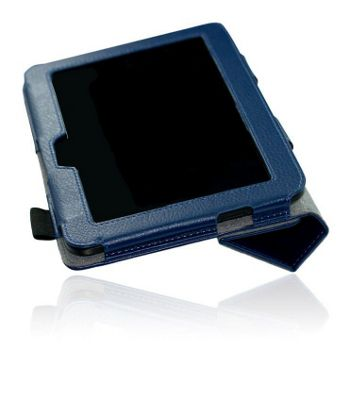 U-bop NeoORBIT Horizontal Kindle Flip Case Blue - For Amazon Kindle Paperwhite
