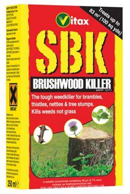 Vitax SBK Brushwood Killer - Kills Tough Weeds / Tree Stumps - 1L