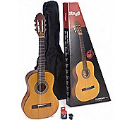 Stagg 1/2 Size Classical Guitar Package - Natural