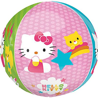Hello Kitty Orbz Balloon - 25 inch Long Lasting
