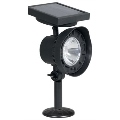 Luxform La Rochelle Solar Spot Light - Black