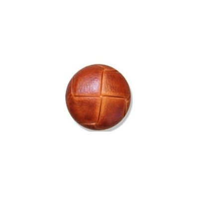 Impex Russet Leather Buttons 15mm 10pk