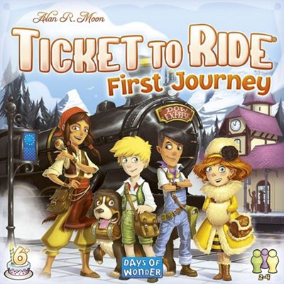 Ticket to Ride Europe: First Journey Board Game