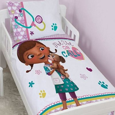 Doc McStuffins Toddler Bedding - Findo