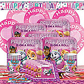 Pink Paw Patrol Party Pack - Deluxe Party for 8