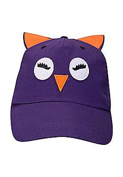 Mountain Warehouse Bird Baseball Hat - Purple