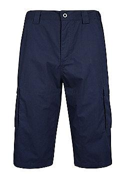 Mountain Warehouse Trek Mens Long Short - Blue