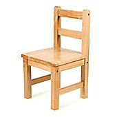 Tidlo Children's Classic Wooden Chair - Natural