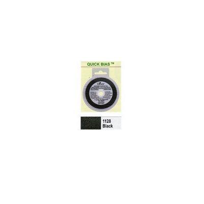 Clover Quick Bias Tape 6mm x 10m Black