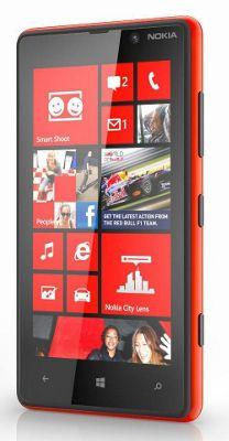 Nokia Lumia 820 (SIM Free) Mobile Phone (Red) with Windows Phone 8