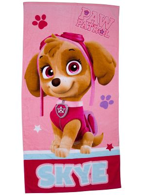 Paw Patrol Stars Cotton Beach Towel