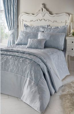 Armitage duvet cover and pillowcase set - sky blue - double