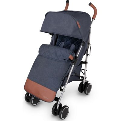 ickle bubba Discovery Max Stroller (Denim Blue on Silver)