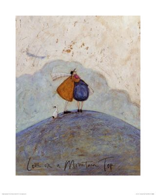 Sam Toft Love On A Mountain Top Print