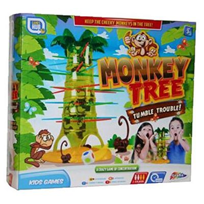 Monkey Tree Tumble Trouble Kids Game
