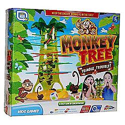 Monkey Tree Tumble Trouble Kids Game