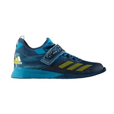 adidas Crazy Power Mens Weightlifting Powerlifting Shoe Blue - UK 10
