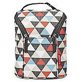 Skip Hop GRAB & GO Double Bottle Bag (Triangles)